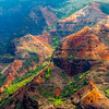 Painted Waimea Canyon