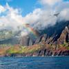 Rainbow Over the Na'Pali