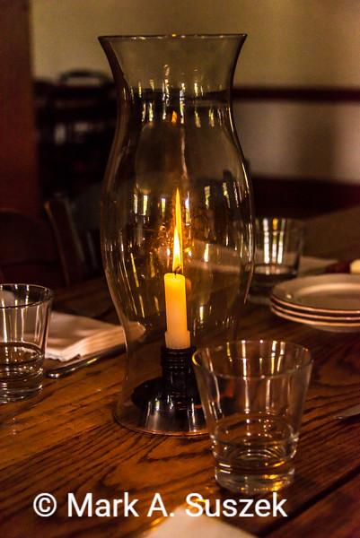 Candel light, Eagle Tavern, Greenfield Village