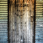 The Front Door of Bradleys Hut ~ Snowy Mountains Australia.The hut was built by stockman for shelter in the days when cattle could graze on the higher peaks in the summer months. When the Ko ...