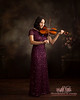 Senior portrait with Violin