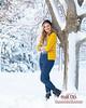 Senior Girl in Snow