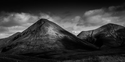 The Cuillins (B&W)