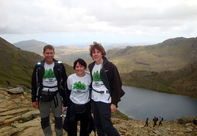 Our all-vegan team also completed the (UK) Vegan 3 Peaks Challenge in 2009.