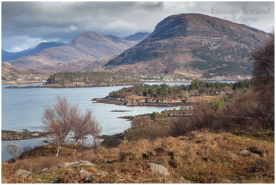 Loch Shieldaig and Ben Shieldaig from Inverbain