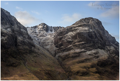 Aonach Dubh from the Pass of Glencoe