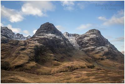 Bidean nam Bian from the Pass of Glencoe