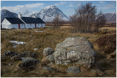 Blackrock Cottage and Buachaille Etive Mor (1)
