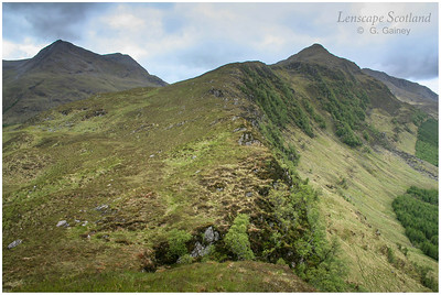 Beinn Sgritheall and Beinn a'Chapuill from the east