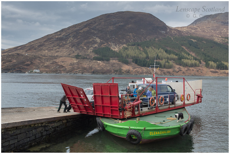 Kylerhea ferry, 'Glenachulish' (2)