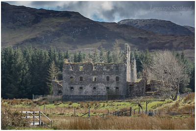 Bernera Barracks ruins (1)