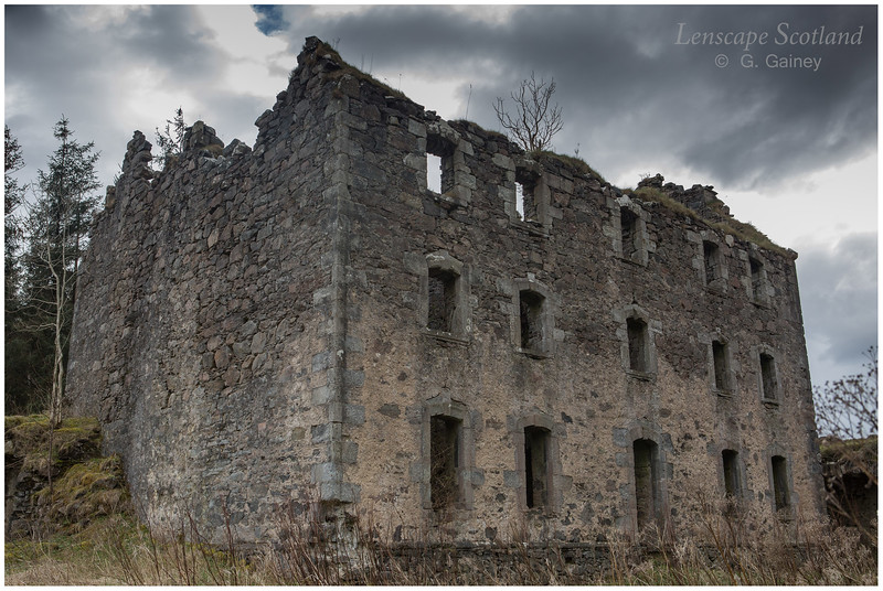 Bernera Barracks ruins (3)