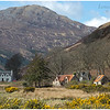 Galltair crofts and Beinn na Caillich on Skye