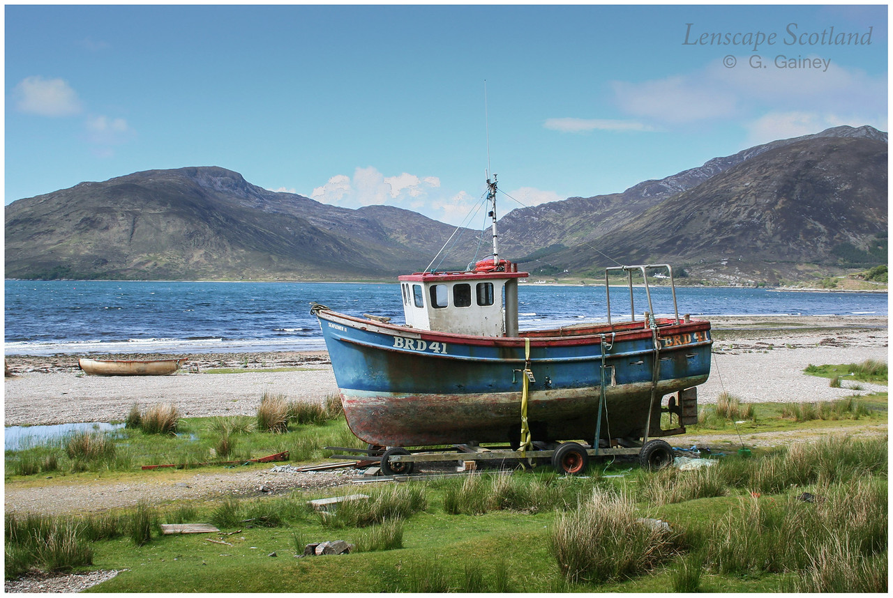 Fishing boat, Galltair