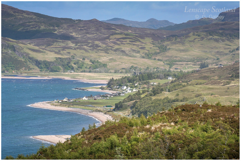Glenelg Bay from the Sandaig road