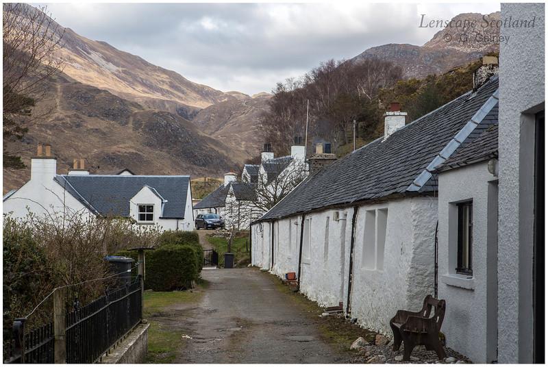 Corran village and Glen Arnisdale