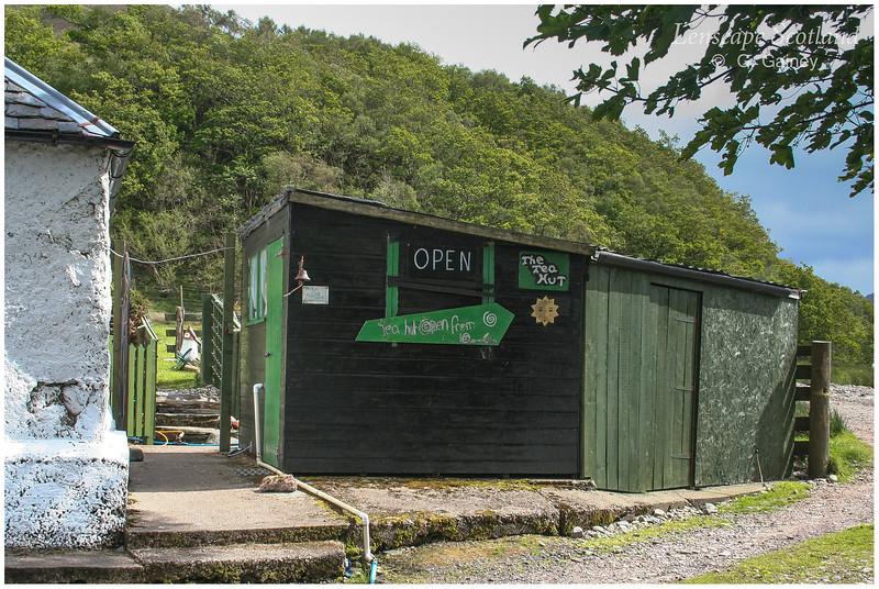 Sheena's tea hut, Corran (1)