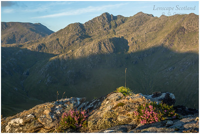 The Saddle and Forcan Ridge from Biod an Fhithich