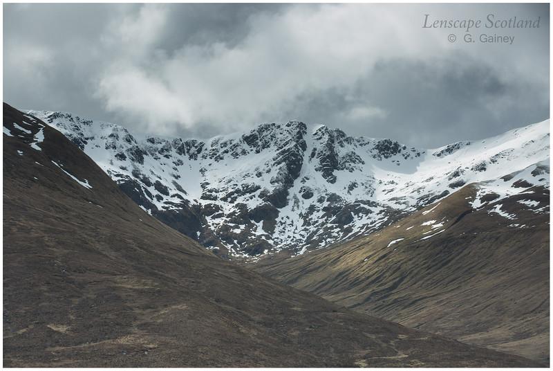 Glen Shiel mountains