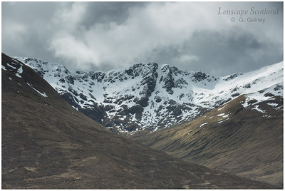 Glen Shiel mountains