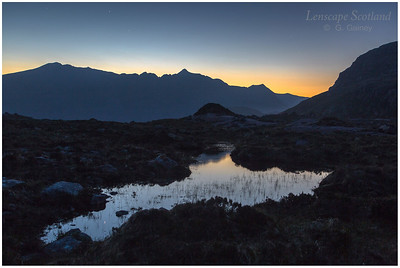 Liathach, early dawn light
