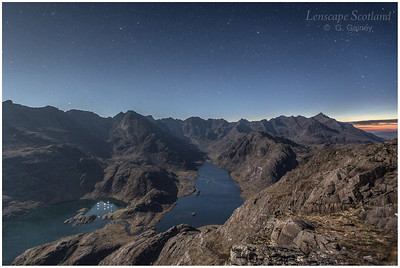 Cuillin ridge and Loch Coruisk, Isle of Skye