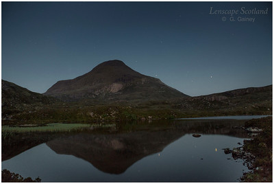 Maol Chean-dearg from Lochan Domhain, Torridon