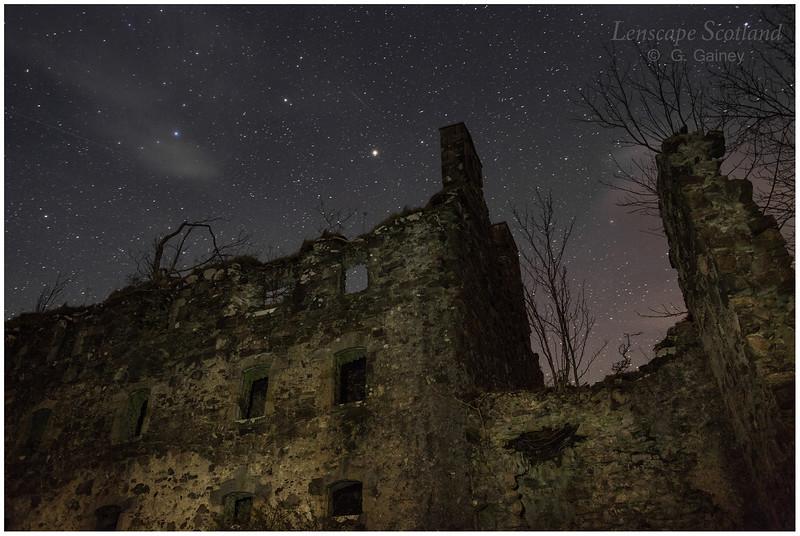 ruins of Bernera Barracks, near Glenelg