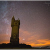 Airlie Tower, between Glen Prosen and Glen Clova, Angus