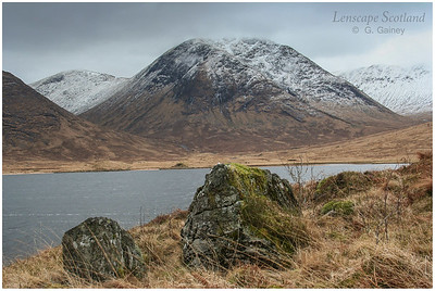 Loch Dochard and Meall nan Eun