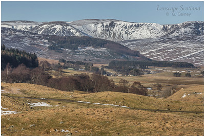 Craigs of Loch Wharral, Glen Clova, Angus