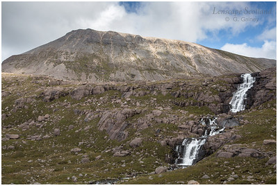 Waterfall on the Allt Coire Mhic Fhearchair