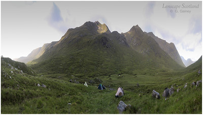 Spidean Mialach and Gleouraich, Easter Glen Quoich