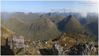 View south from Beinn Dorain, Bridge of Orchy