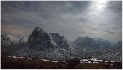 Buachaille Etive Mor and Glen Coe from Stob Beinn a'Chrulaiste