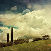 Historic Brick Works Chimneys at Sydney Park