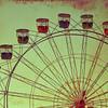 Ferris Wheel Frozen in Time