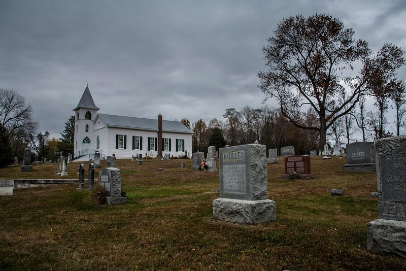 Church in the Graveyard