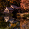 Mabry Mill in Autumn