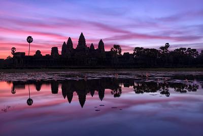 Angkor Twilight    Siem Reap Cambodia