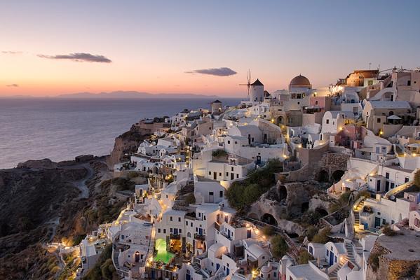 Colors of Santorini    Greece