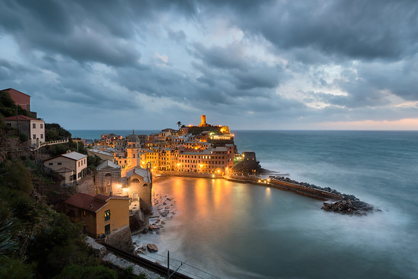 Eye of the Storm    Vernazza
