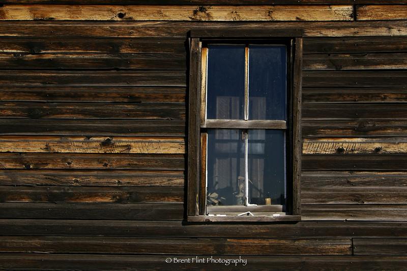DF.327 - window, Old Molsen Ghost Town Museum, Molsen, WA.