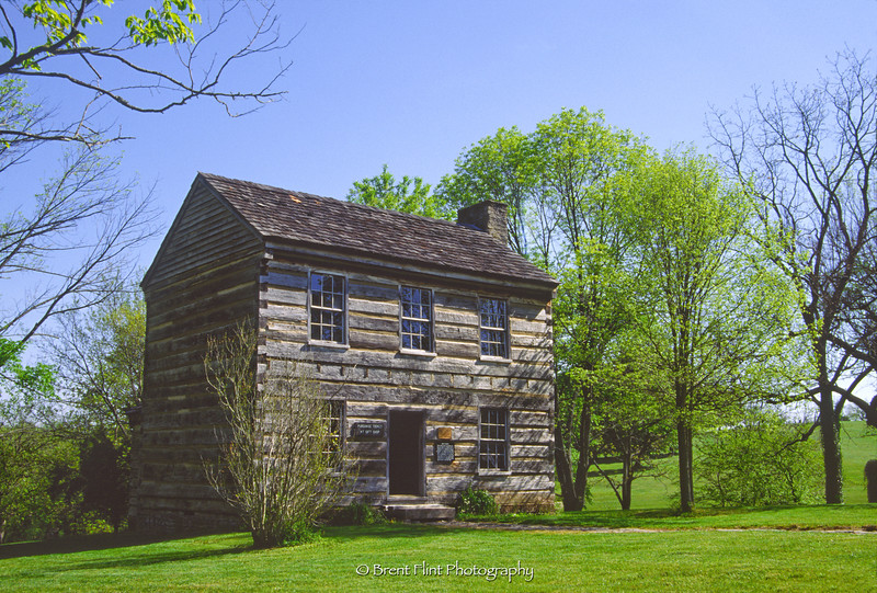 S.2970 - Francis Berry House, Lincoln Homestead State Park, KY.