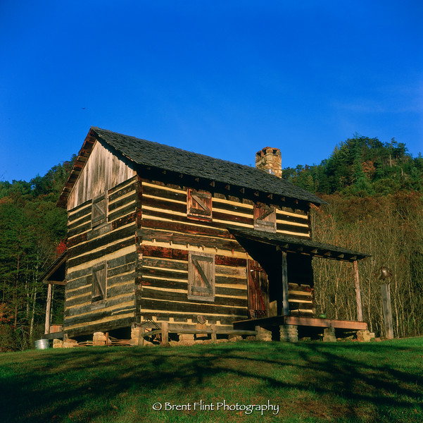 S.2548 - homestead in Gladie, Kentucky, Gladie Historic Site, Red River Gorge, KY.