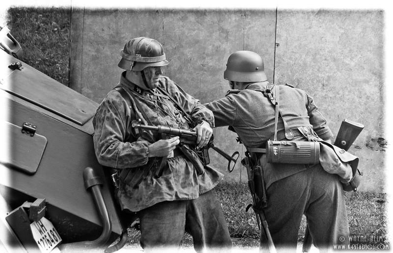 German Reenactors   Photography by Wayne Heim