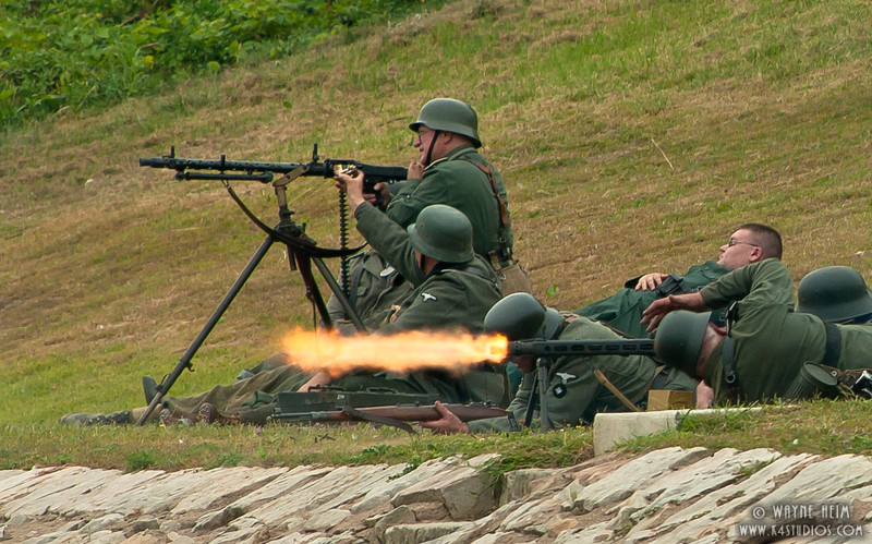 German Defensive Position   Photography by Wayne Heim