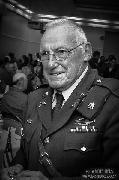 Portrait of  Soldier    Black & White Photography by Wayne Heim