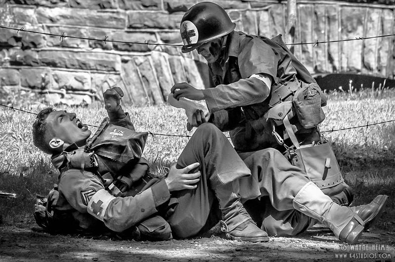 Medic to Aid    Photography by Wayne Heim