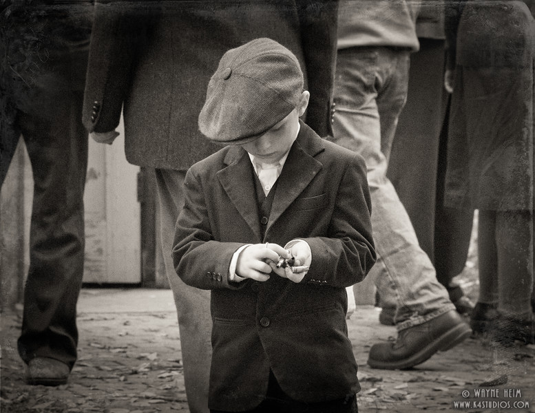 Little Gentleman  Photography by Wayne Heim